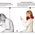 texting head position
