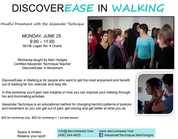 DiscoverEase in Walking Workshop