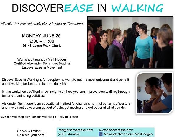 DiscoverEase in Walking Workshop