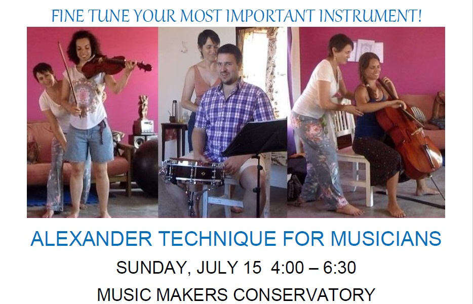 Mindful music making for greater comfort, health and enjoyment!