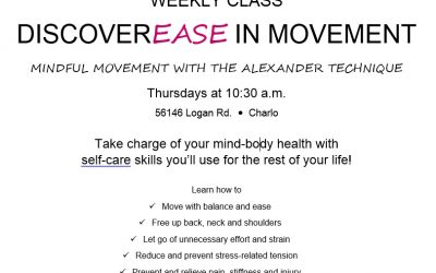 Weekly DiscoverEase in Movement Class in Charlo