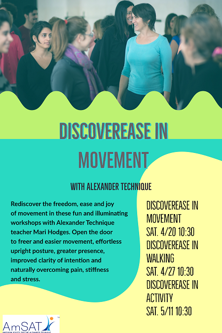 DiscoverEase in Movement workshop in Helena, MT