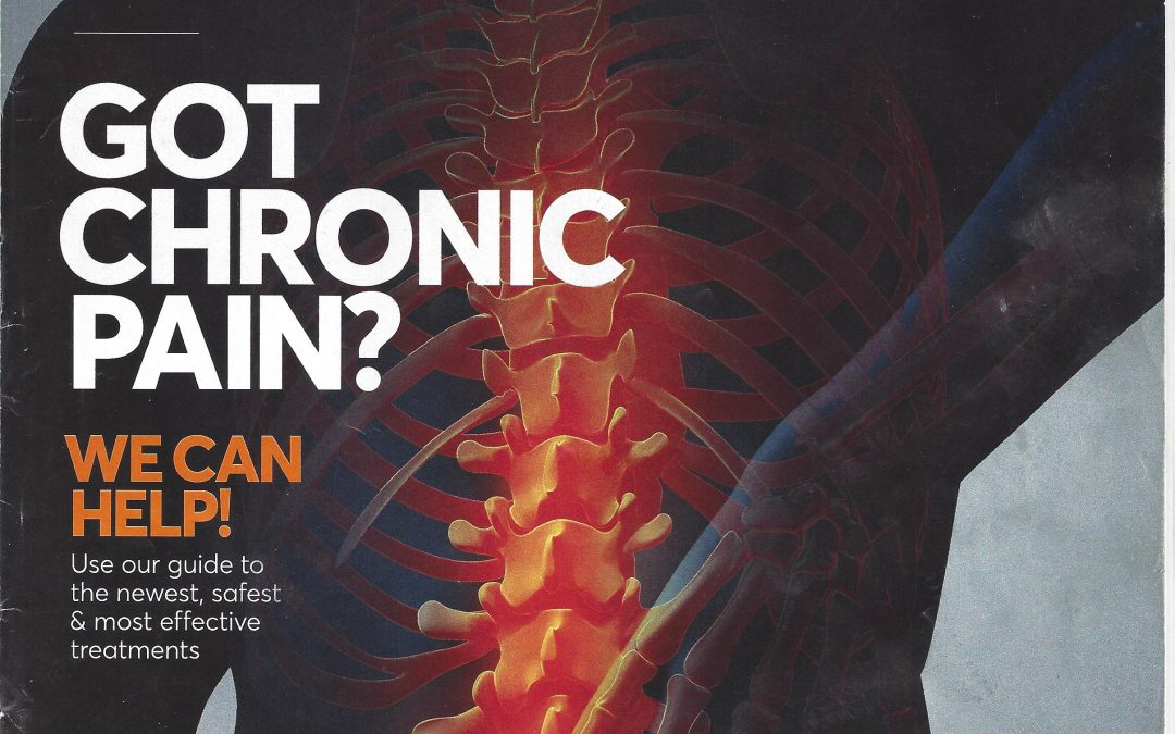 Consumer Reports recommends Alexander Technique for back pain