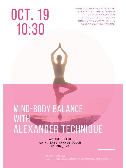 Mind-Body Balance in Helena, MT