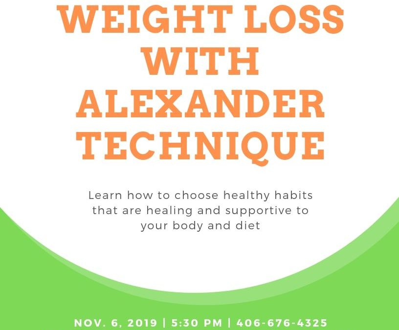 Weight Loss Support Nov. 6