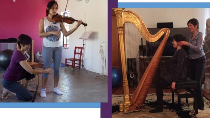 La Técnica Alexander ayuda a los músicos a cambiar hábitos dañinos y maximizar la expresión