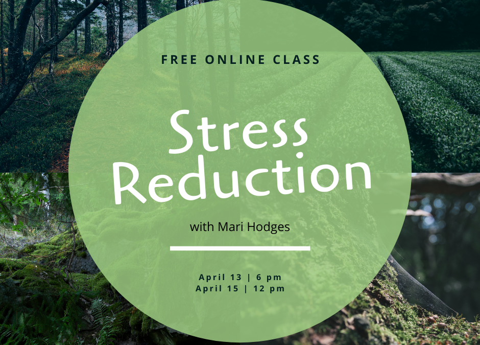 New free online stress reduction class