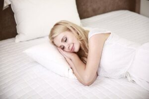 Tips for falling asleep and information about the upcoming FREE sleep workshop