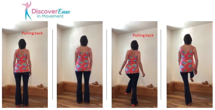 Don't pull your shoulders back! It will help you reduce pain and improve balance
